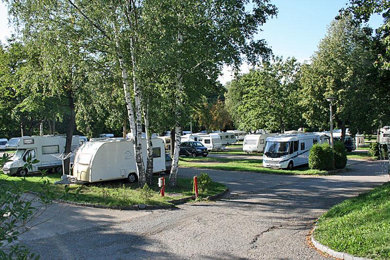 Caravan-Stellplätze Dresden
