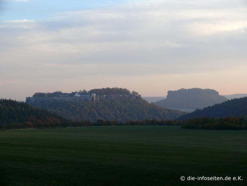 Festung Königstein und Lilienstein