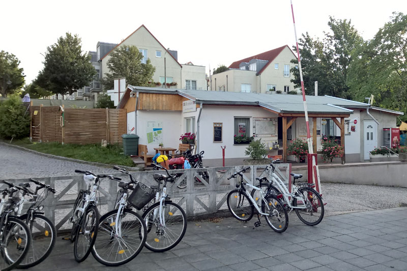 Fahrradverleih Campingplatz Mockritz