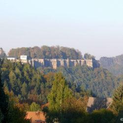 Nikolsdorfer Berg Festung Köenigstein