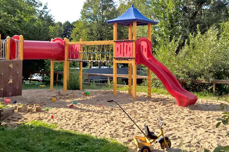 Kinderspielplatz Camping Dresden Mockritz